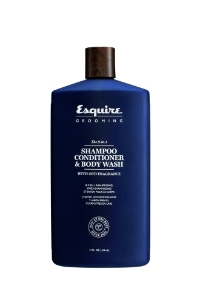 The 3-in-1 SHAMPOO, CONDITIONER & BODY WASH 414 ml - ein Duschgel, Shampoo und Conditioner in einem. Sehr spasame Anwendung, Super Duft. Nicht nur für Maenner!